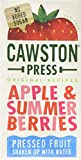 Cawston Press Kids Fruit Water Summer Berries Cartons 200 ml (Pack of 18)
