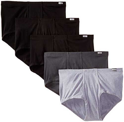 Hanes Men's 5-Pack Big FreshIQ Mid-Rise ComfortSoft Briefs
