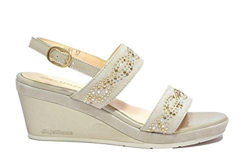 Melluso Sandali zeppa dune scarpe donna R7622 39
