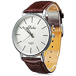 GALLANT Dalas Quartz Watch elegant Wristwatch stylish Timeless design classic Leather brown