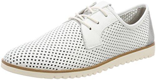 Tamaris Damen 23603 Sneaker, Weiß (White), 39 EU