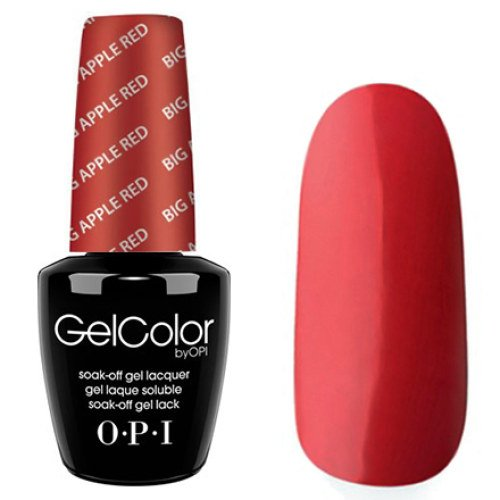 OPI Gelcolor 15ml - BIG APPLE RED - Smalto Semipermenante -Collezione Primari