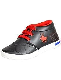 Goodlay Boys Black Sneakers