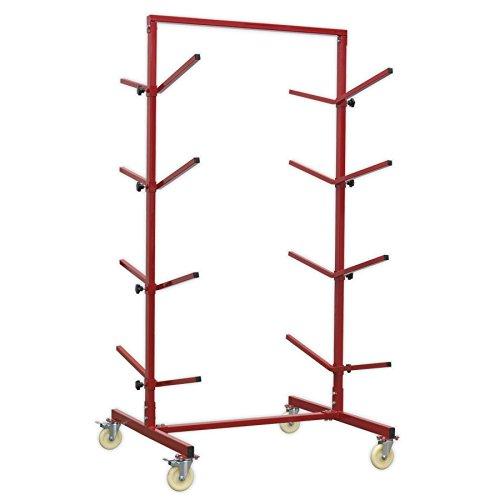 SEALEY re55Bumper Rack doppelseitig 4-Stufen (Stoßstange Rack)