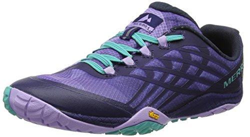Merrell Damen Trail Glove 4 Traillaufschuhe, Violet (Aura très de raisin / astral), 39 EU -