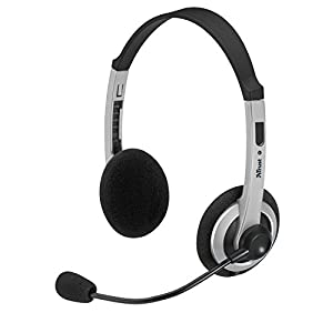 Trust 15480 HS-2450 Headset for PC, Laptop - Black