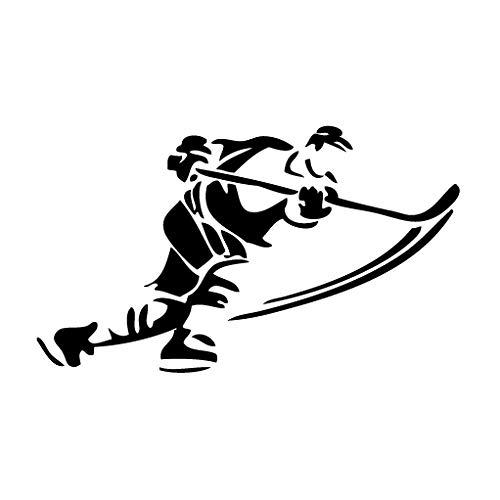 Leon Online Box Hockey Score Post - Tribal-Aufkleber für Auto, Fahrrad, iPad, Laptop, MacBook, Helm 12cm schwarz (Automobil-laptop-stand)