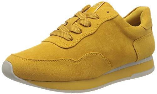 Tamaris Damen 1-1-23615-24 Sneaker, Gelb (Saffron 627), 39 EU