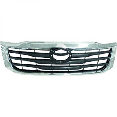 PIECES AUTO SERVICES Grille de calandre Noir Argent Toyota HILUX de 2011 à >>
