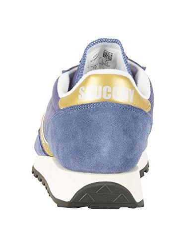 Saucony Jazz Original Vintage, Sneaker Uomo Blu (Nvy/Gld 22)
