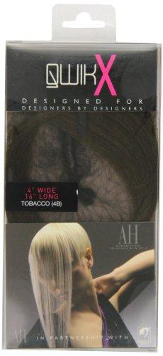 American Dream - AH/A1/QX/16/4B - Qwik X - 100% Cheveux Naturel - Indien Remi Extensions - Couleur 4B - Tabac - 41 cm