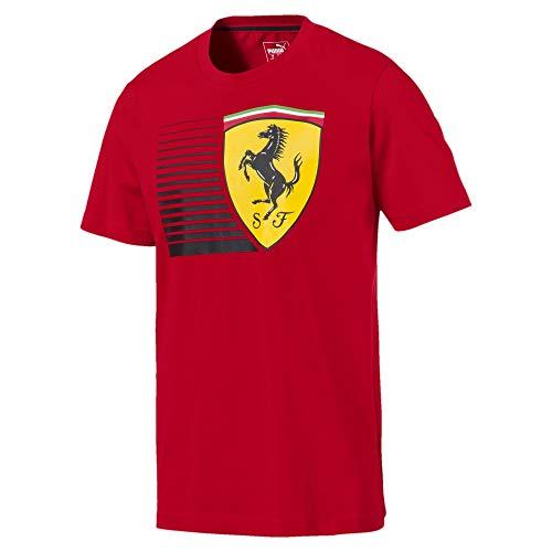 Preisvergleich Produktbild PUMA Ferrari Herren Big Shield T-Shirt Rosso Corsa XL