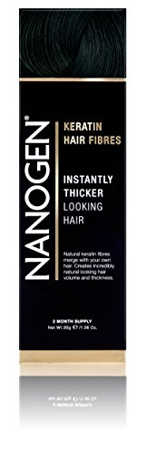 Nanogen Hair Thickening Fibres Black, 1er Pack (1 x 30 g)