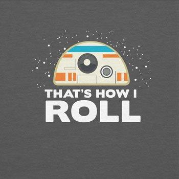 TEXLAB - That´s how I roll - Herren T-Shirt Grau