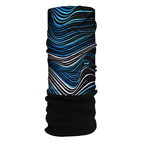 HAD head accessoire Taille unique Multicolore - Waves Sky Fleece/Black