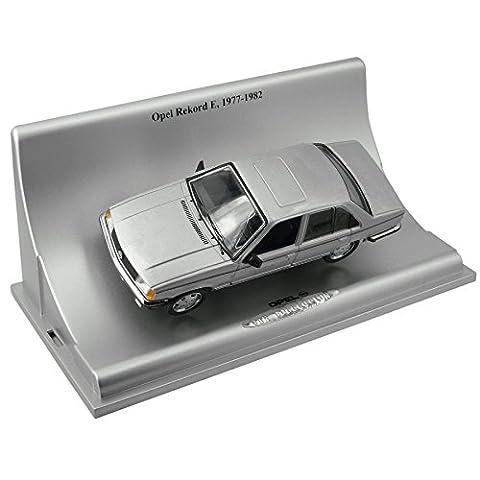 Modellauto Opel Rekord E - 1977-1982 (1:43) - silber