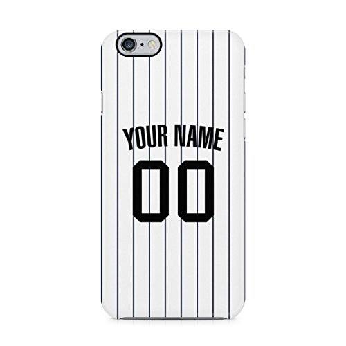 (Baseball Jersey Personalized Customizable Custom Name Initial Text Create Your Own Gift Present Schutzhülle aus Hartplastik Handy Hülle für iPhone 6 / iPhone 6s Case Hard Cover)