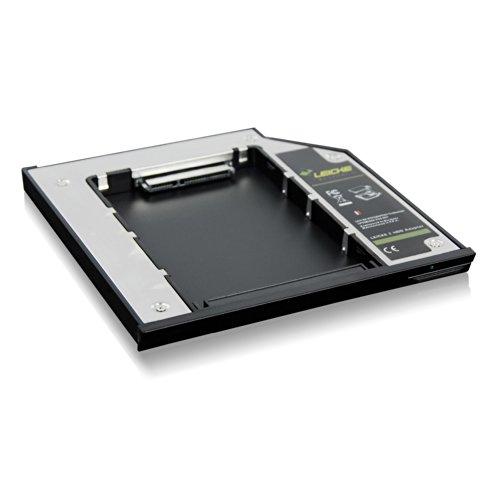 LEICKE DUAL SATA 2.HDD/SSD Festplatte Adapter 9.5 mm für DELL Notebooks mit E-Serie - 3
