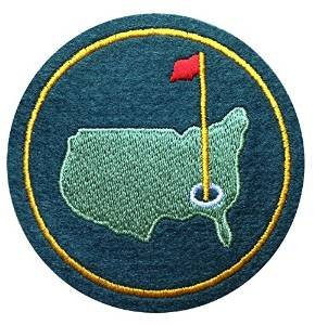AUGUSTA US NATIONAL MASTERS PGA GOLF GREEN JACKET PATCH Aufnäher d: 7,5cm
