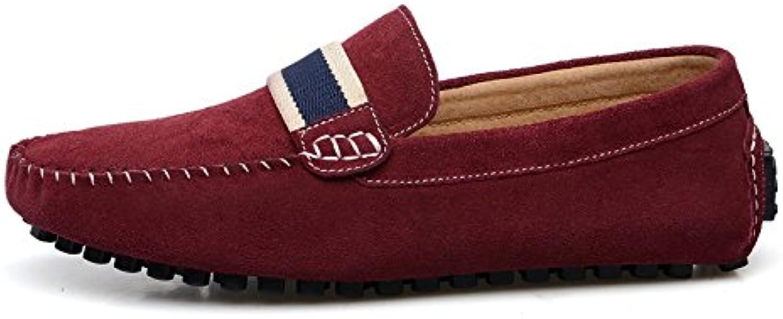 Otoño Hombres Cuero Zapatos Beanie Zapatos De Conducción Zapatos Perezosos -