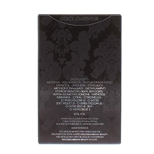 Dolce & Gabbana The One homme / men, Eau de Toilette, Vaporisateur / Spray, 50 ml - 4