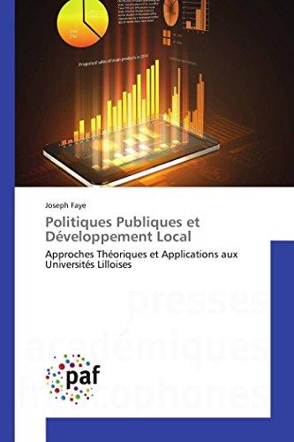 Politiques Publiques et Développement Local par Joseph Faye