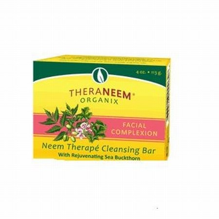 theraneem-organix-neem-therapy-cleansing-bar-facial-complexion-4-oz-113-g