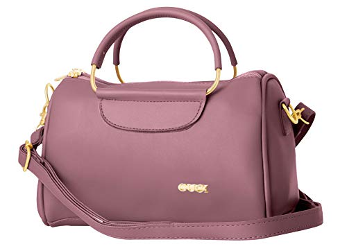 TAP FASHION Stylish Classic Handbag, Sling Bag with Adjustable Strap for Women's and Girls.(Rose Pink)