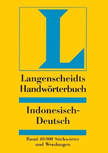 Langenscheidt Handwörterbuch Indonesisch-Deutsch