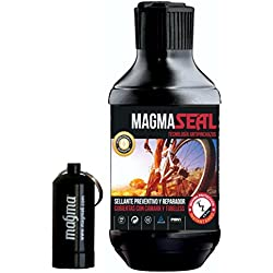 Liquido Antipinchazos MagmaSeal 250ml. Anti pinchazos preventivo y reparador. Liquido Tubeless y Cubiertas con Cámara. Incluye Pastillero estanco