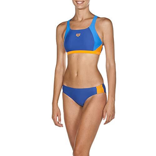 ort Bikini Ren Bikiniset, royal-pix Blue-Tangerine, 44 ()