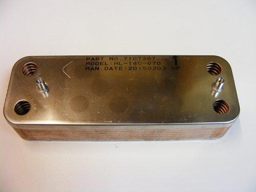 Vokera 8037 kompakt EXCELL Linea Maxin WW Wärmeaustauscher