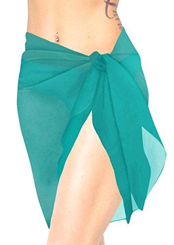 Badeanzug Chiffon Hälfte Sarong Frauen 78