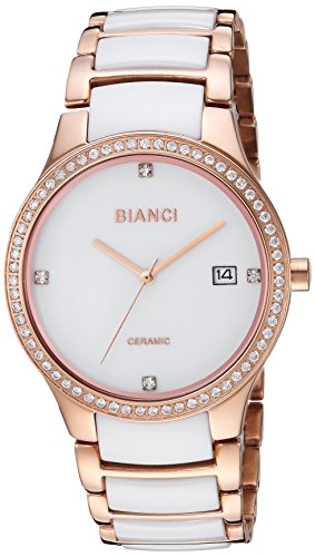 ROBERTO BIANCI WATCHES Women's 'Balbinus' Quartz Stainless Steel Casual Watch, Color:Two Tone (Model: RB2952)