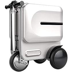 Smart Riding Reisegepäck Foldable Koffer Elektro Gepäck Scooter Auto 30 Liter Gepäck Sets,Silver