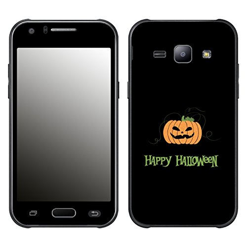 Disagu SF-106425_1220 Design Schutzfolie für Samsung Galaxy J1 Duos (SM-J100F) - Motiv Halloween Pumpkin 02