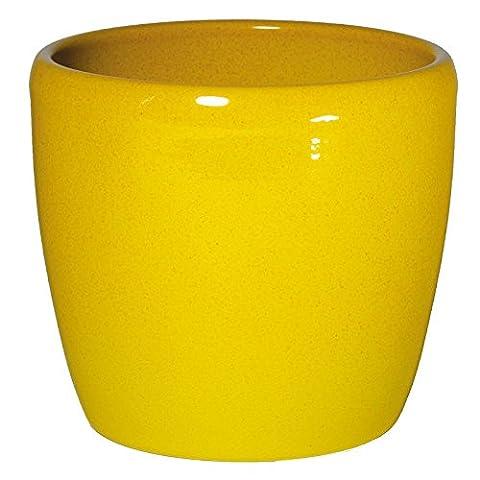 Keramik Hydro Blumentopf Venus 13/12 gelb LC Ø 16cm H