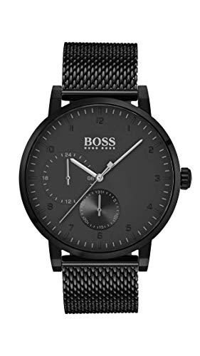 Hugo Boss Watch Hommes Multi-Cadrans Quartz Montre avec Bracelet en Acier Inoxydable 1513636