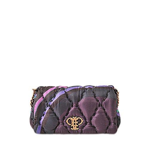 Tasche mit Überschlag aus Seidentwill mit Print (Emilio Handtaschen Damen Pucci)