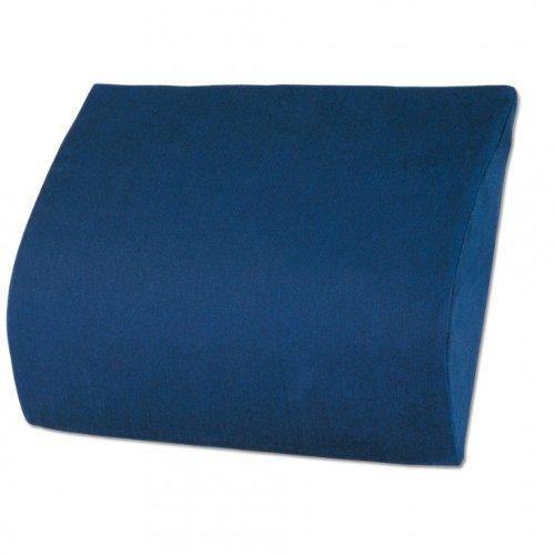 Lendenkissen, Schaumstoff, blau, B 25 x H 32 cm