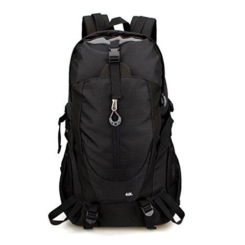 Outdoor-Wanderpaket Herren-Frauen-Rucksack Imprägniern Mich,Orange Black