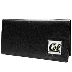 NCAA California Golden Bears  Leather Checkbook Cover