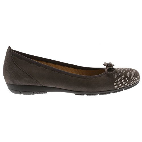 Gabor Shoes Gabor Casual, Ballerine Donna Grigio (19 Zinn)