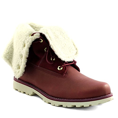 Chaussures Timberland 6in Wp Shearling Bo Rosey Rose