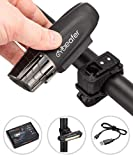 Rechargeable USB Bike Light Set l Powerful LED Lumens l Bicycle Headlight Front