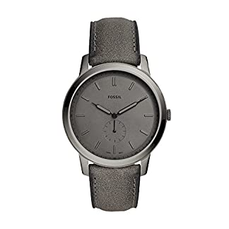 Fossil Analog Grey Dial Men's Watch – FS5445