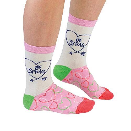 Braut Socken für Frauen im Paar - Bride Strumpf