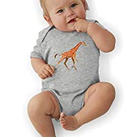 Monicago Baby one-Piece Suit,Baby Jumper,Pajamas, Baby Boy Bodysuits, Giraffe Take A Walk Baby Boys
