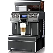 Saeco Aulika Top High Speed Cappuccino Independiente Totalmente automática 4L 2tazas Plata - Cafetera (Independiente