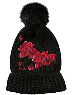 Cappello Red Hat Desigual nero Fiori